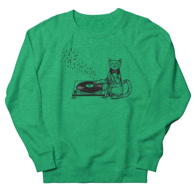 Music Master Women's Sweatshirt by cmatthesart's Artist Shop