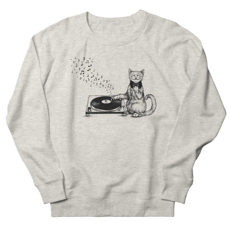 Music Master Men's Sweatshirt by cmatthesart's Artist Shop