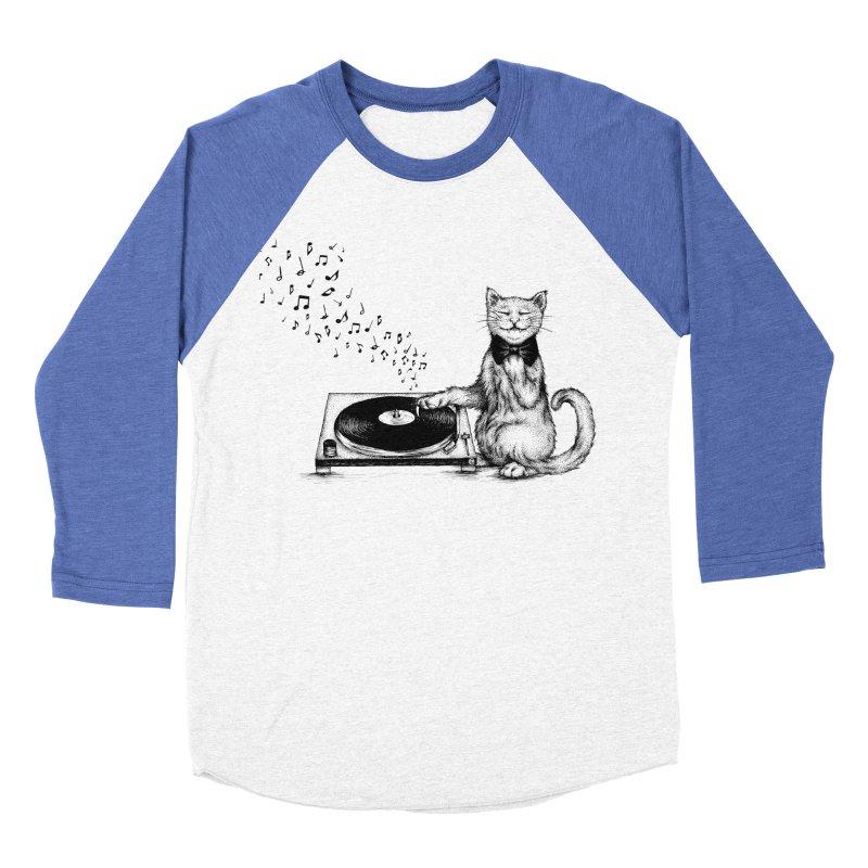 Music Master Women's Baseball Triblend T-Shirt by cmatthesart's Artist Shop