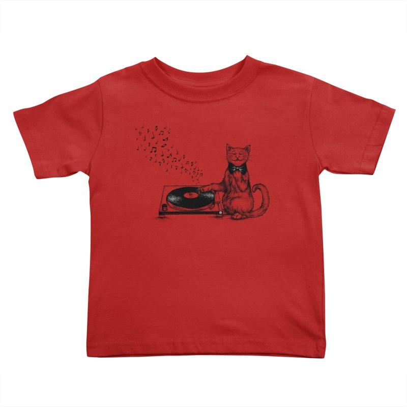 Music Master Kids Toddler T-Shirt by cmatthesart's Artist Shop