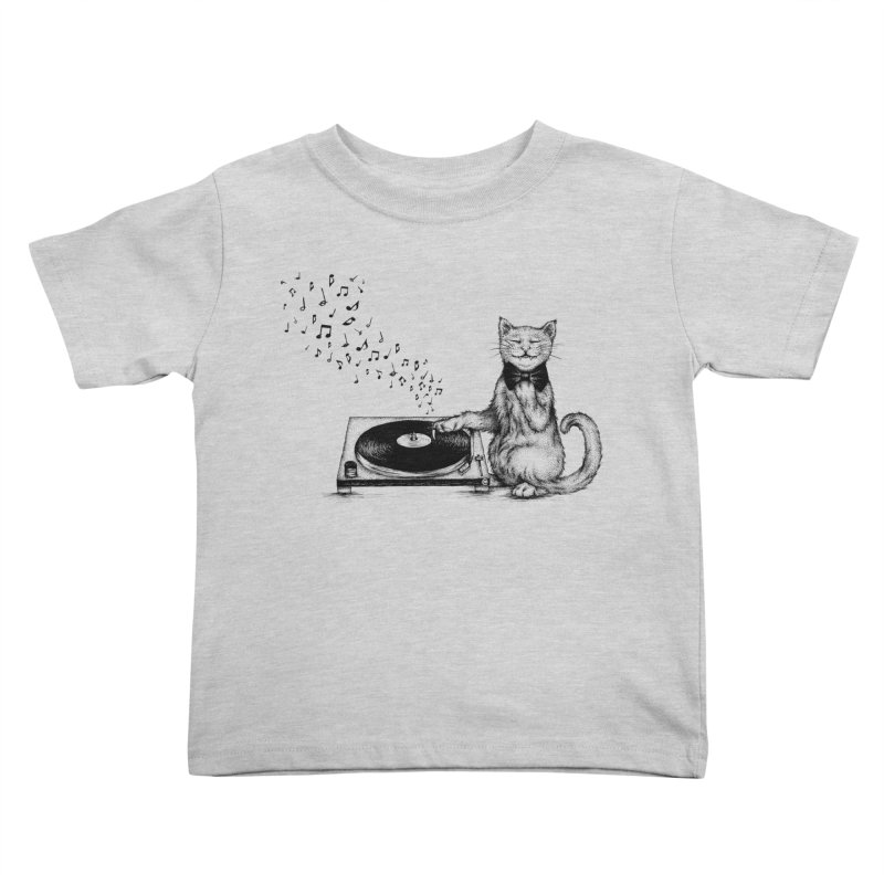 Music Master Kids Toddler T-Shirt by cmatthesart's Artist Shop