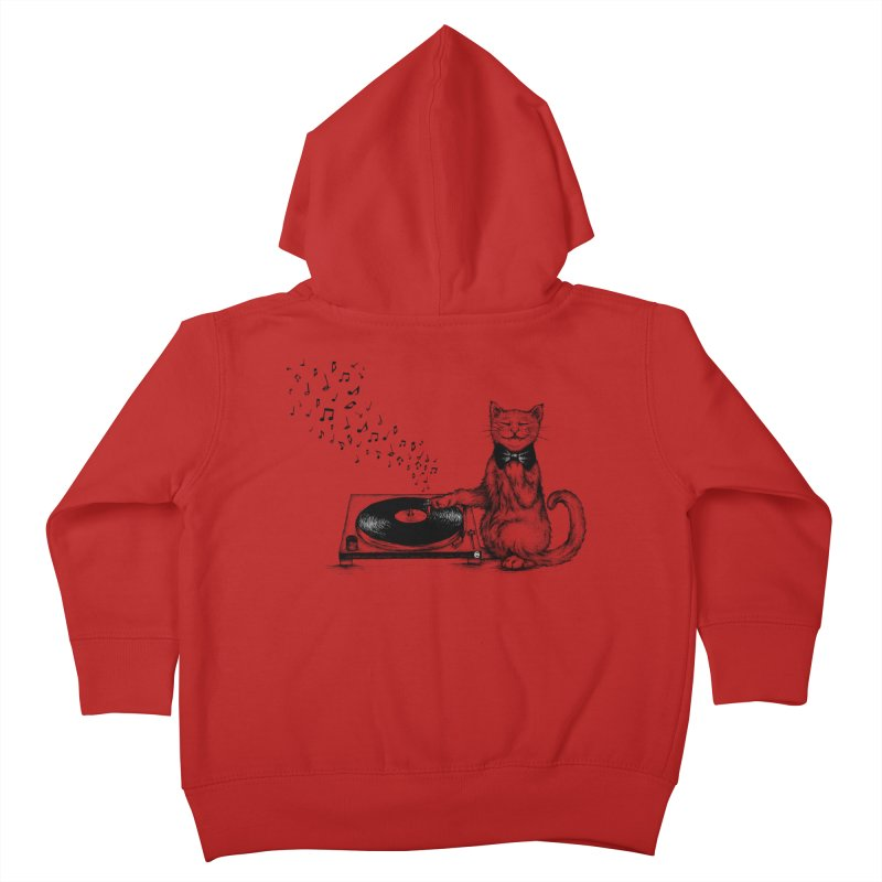 Music Master Kids Toddler Zip-Up Hoody by cmatthesart's Artist Shop