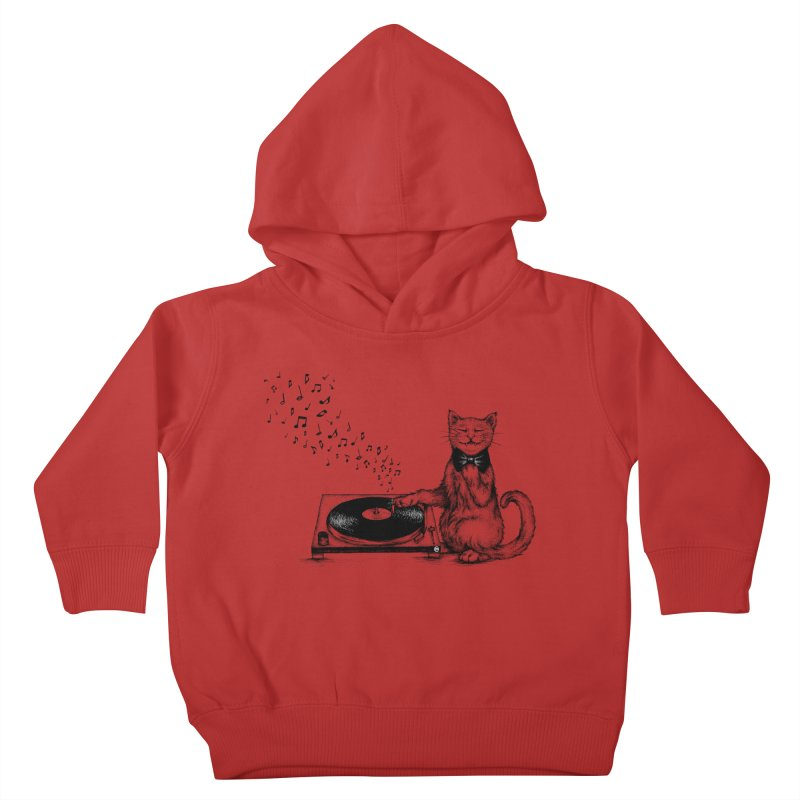 Music Master Kids Toddler Pullover Hoody by cmatthesart's Artist Shop