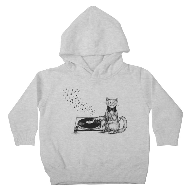 Music Master Kids Toddler Pullover Hoody by cmatthesart's Artist Shop