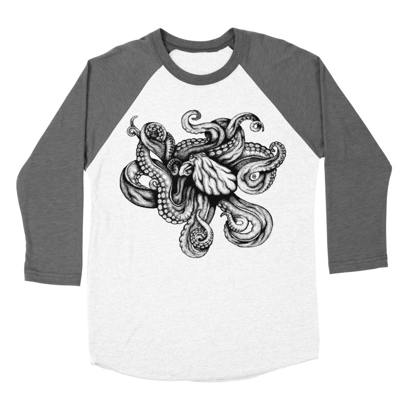 Octopus Women's Longsleeve T-Shirt by cmatthesart's Artist Shop