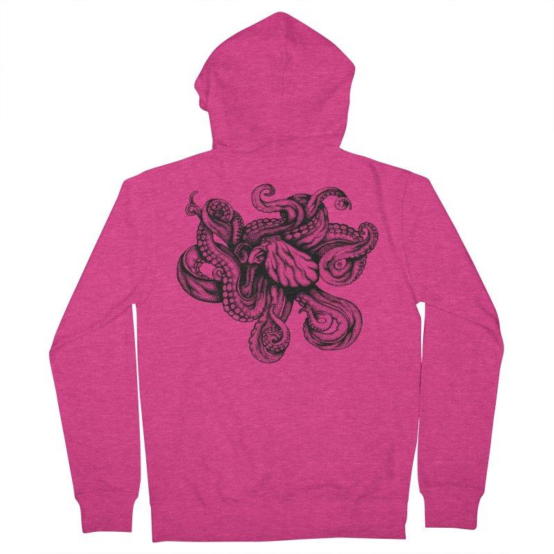 Octopus Women's Zip-Up Hoody by cmatthesart's Artist Shop
