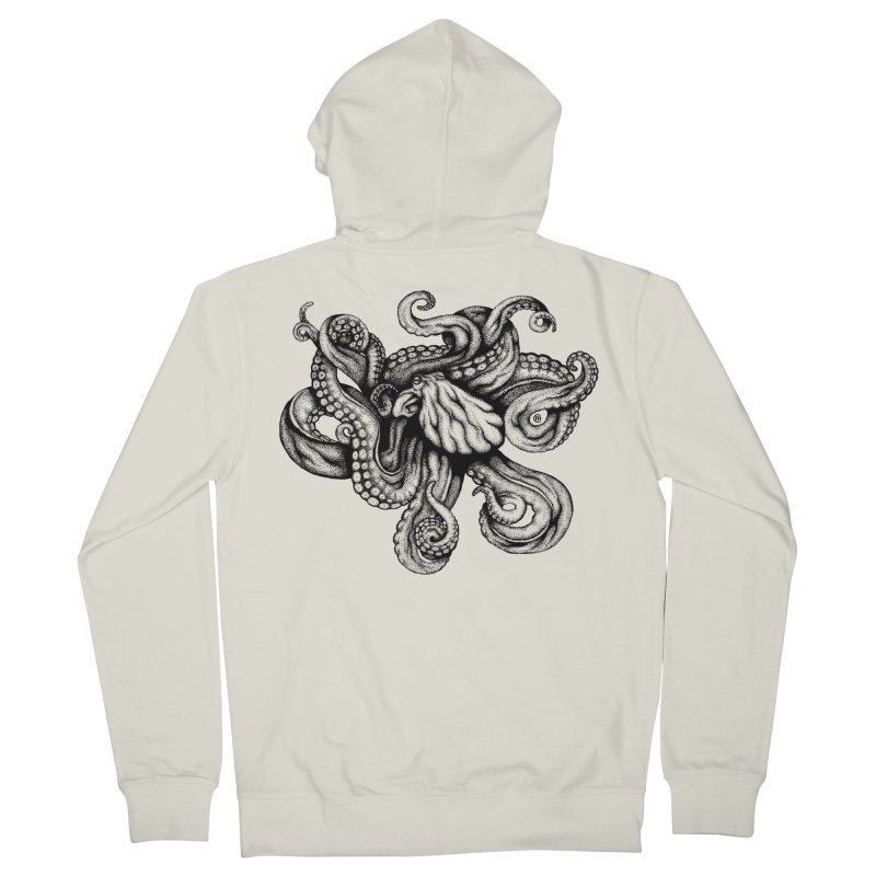 Octopus Women's Zip-Up Hoody by cmatthesart's Artist Shop
