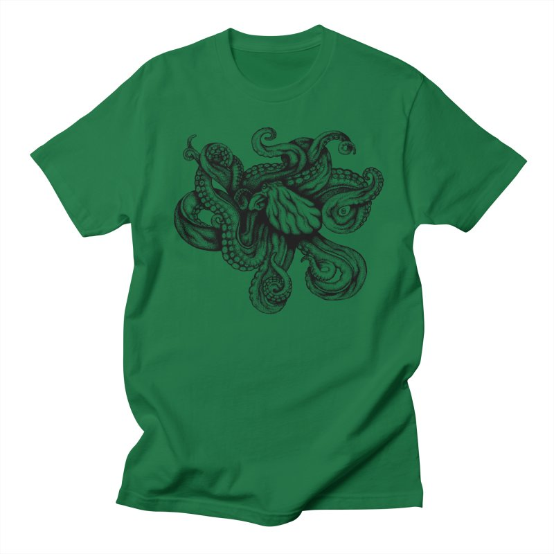 Octopus Men's T-shirt by cmatthesart's Artist Shop