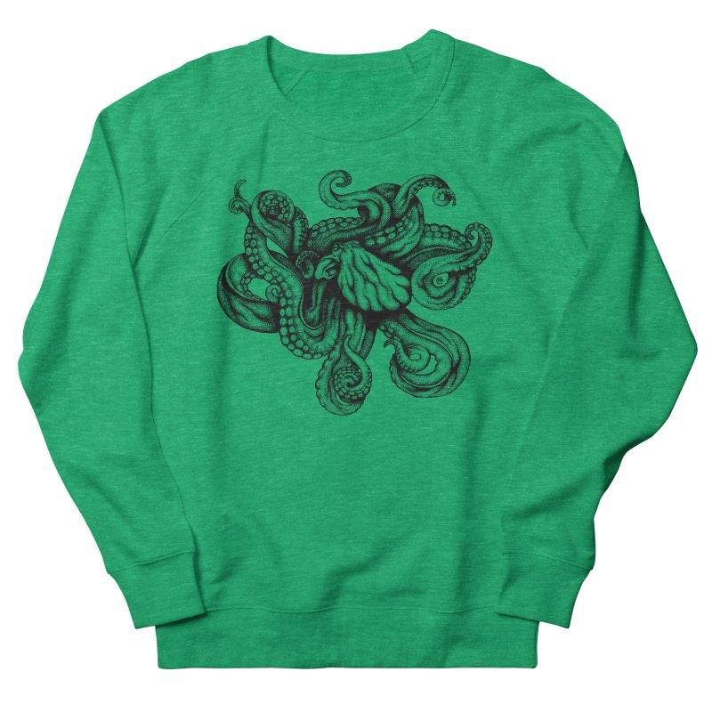Octopus Women's Sweatshirt by cmatthesart's Artist Shop