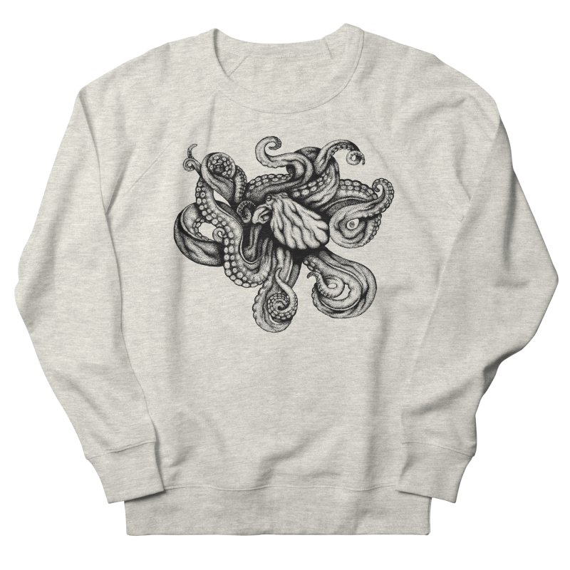 Octopus Women's Sweatshirt by cmatthesart's Artist Shop