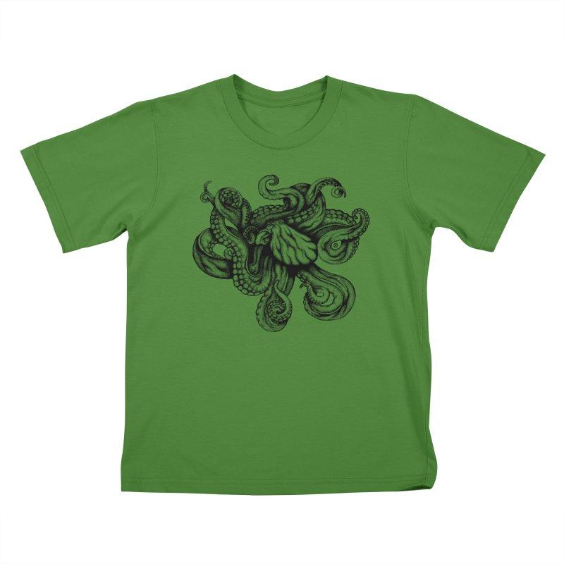 Octopus Kids T-shirt by cmatthesart's Artist Shop