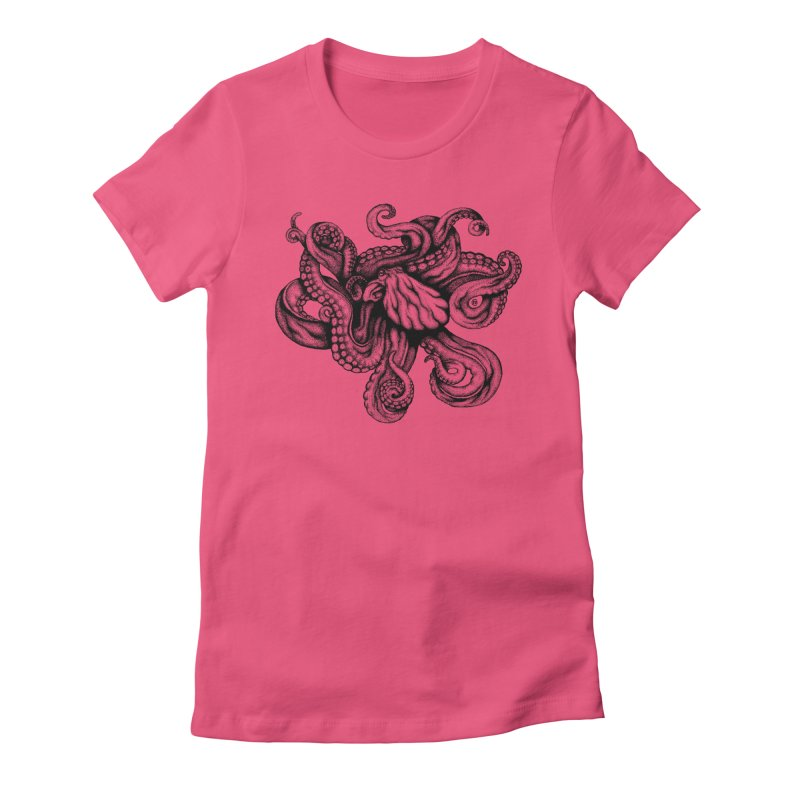 Octopus Women's T-Shirt by cmatthesart's Artist Shop