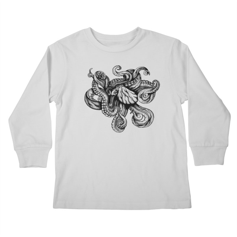 Octopus Kids Longsleeve T-Shirt by cmatthesart's Artist Shop
