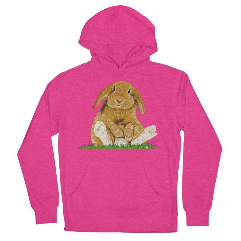Bunny Women's Pullover Hoody by cmatthesart's Artist Shop