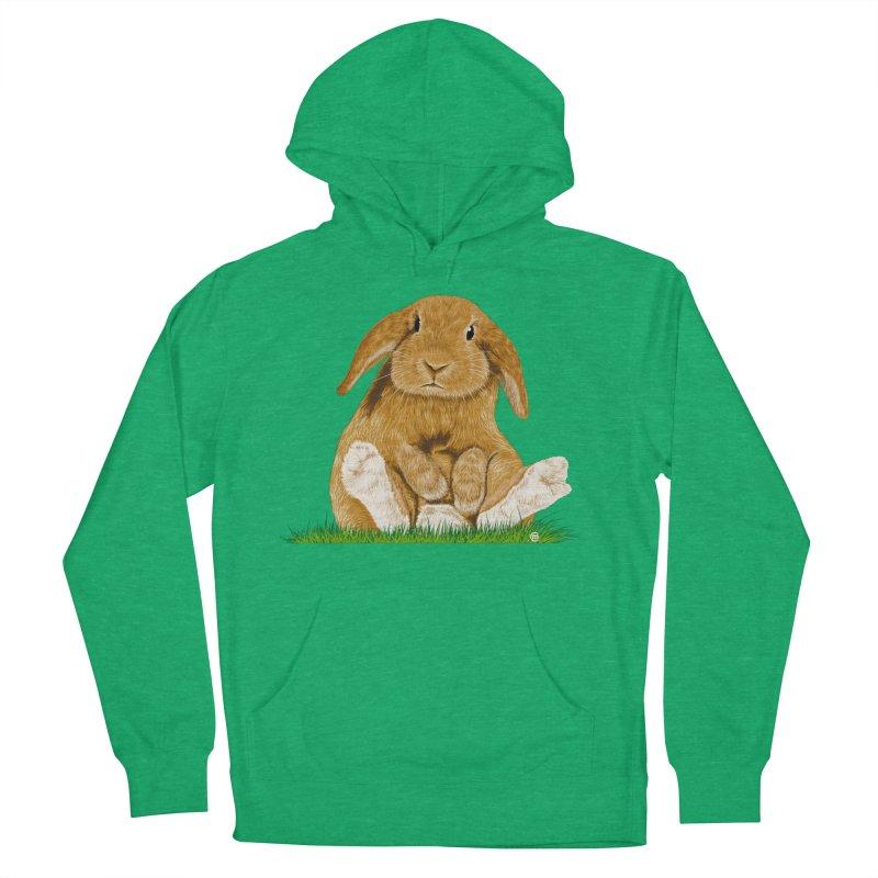 Bunny Men's Pullover Hoody by cmatthesart's Artist Shop
