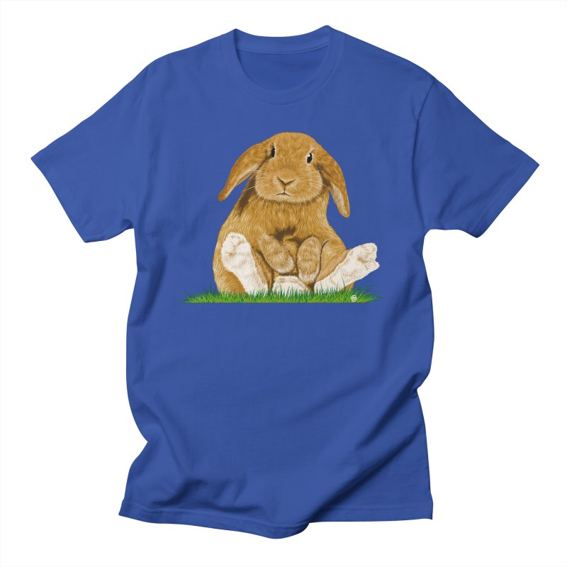 Bunny Men's T-shirt by cmatthesart's Artist Shop