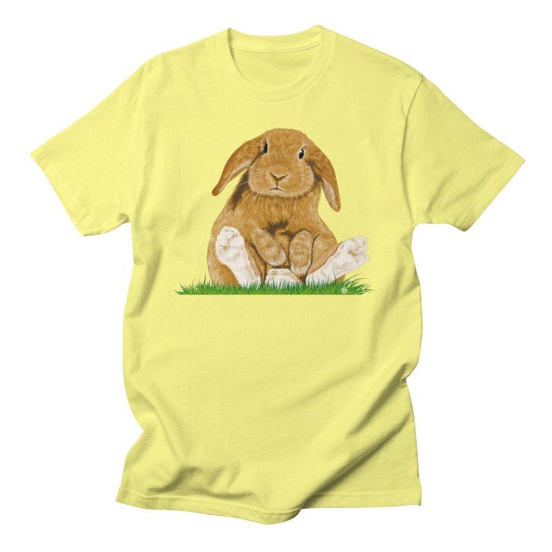 Bunny Men's T-Shirt by cmatthesart's Artist Shop