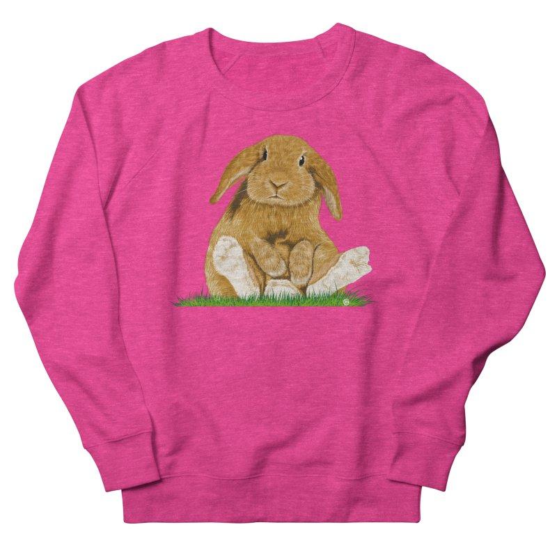 Bunny Women's Sweatshirt by cmatthesart's Artist Shop