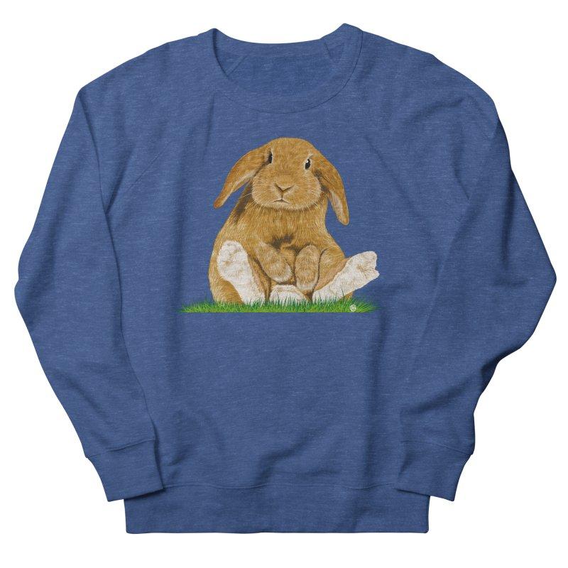 Bunny Men's Sweatshirt by cmatthesart's Artist Shop