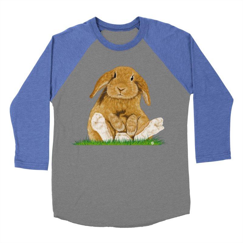 Bunny Women's Baseball Triblend T-Shirt by cmatthesart's Artist Shop