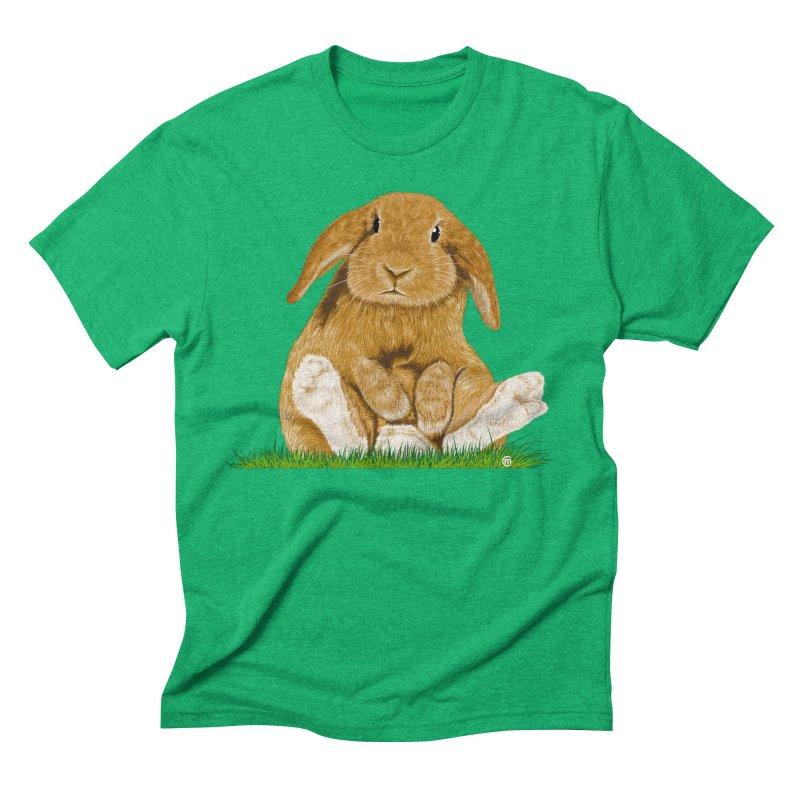 Bunny Men's Triblend T-shirt by cmatthesart's Artist Shop