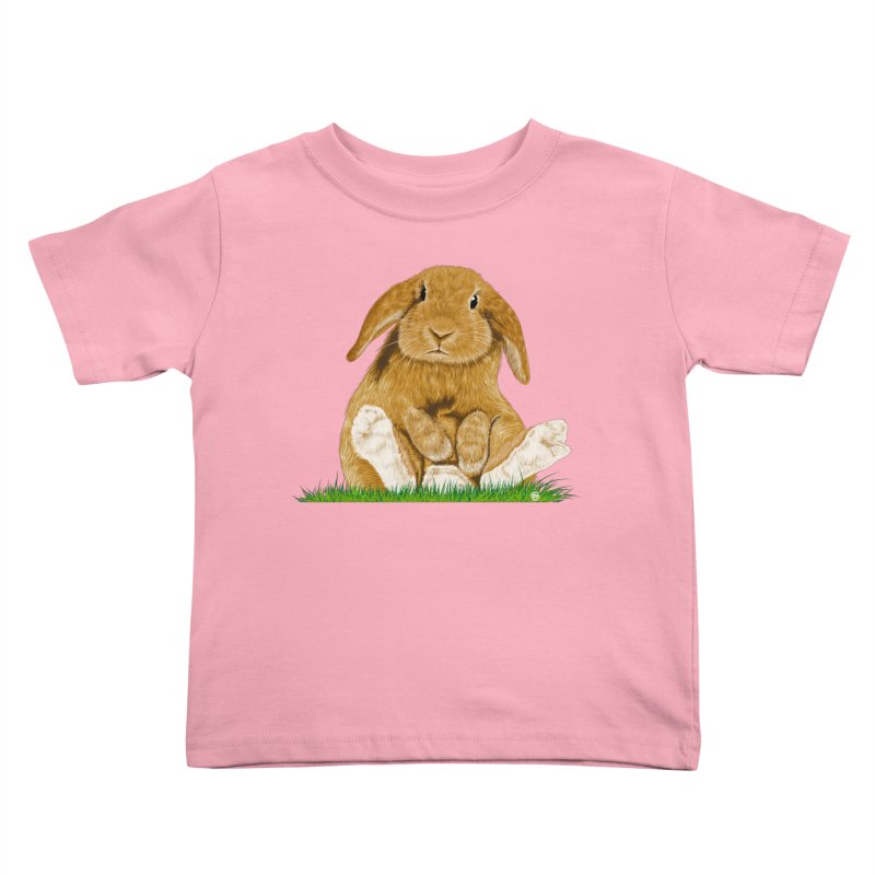 Bunny Kids Toddler T-Shirt by cmatthesart's Artist Shop