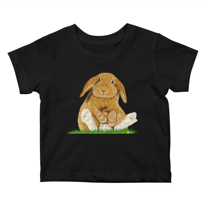 Bunny Kids Baby T-Shirt by cmatthesart's Artist Shop