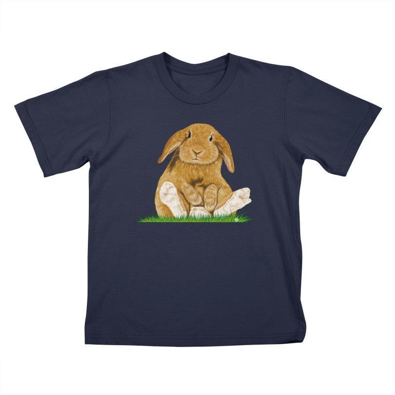Bunny Kids Toddler T-Shirt by cmatthesart's Artist Shop