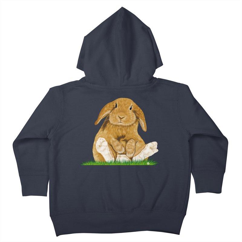 Bunny Kids Toddler Zip-Up Hoody by cmatthesart's Artist Shop