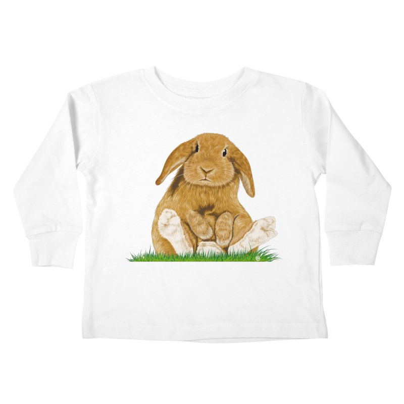 Bunny Kids Toddler Longsleeve T-Shirt by cmatthesart's Artist Shop