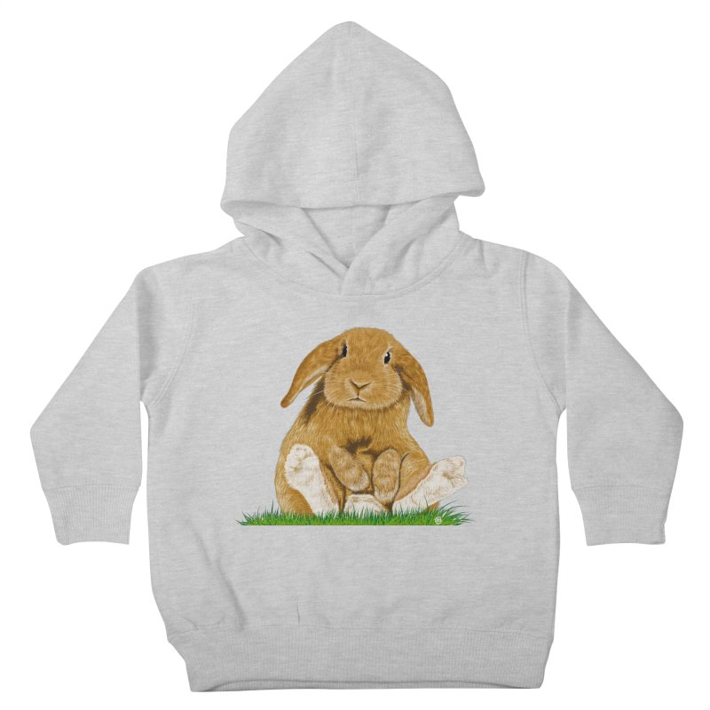 Bunny Kids Toddler Pullover Hoody by cmatthesart's Artist Shop