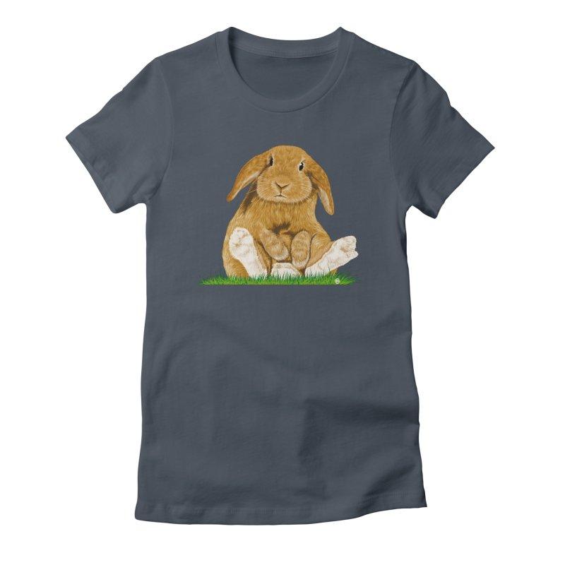 Bunny Women's T-Shirt by cmatthesart's Artist Shop