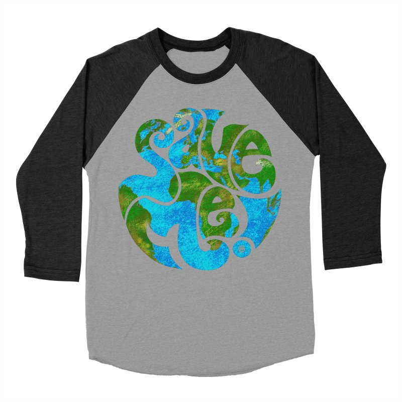 Save Me! Men's Baseball Triblend T-Shirt by cmatthesart's Artist Shop