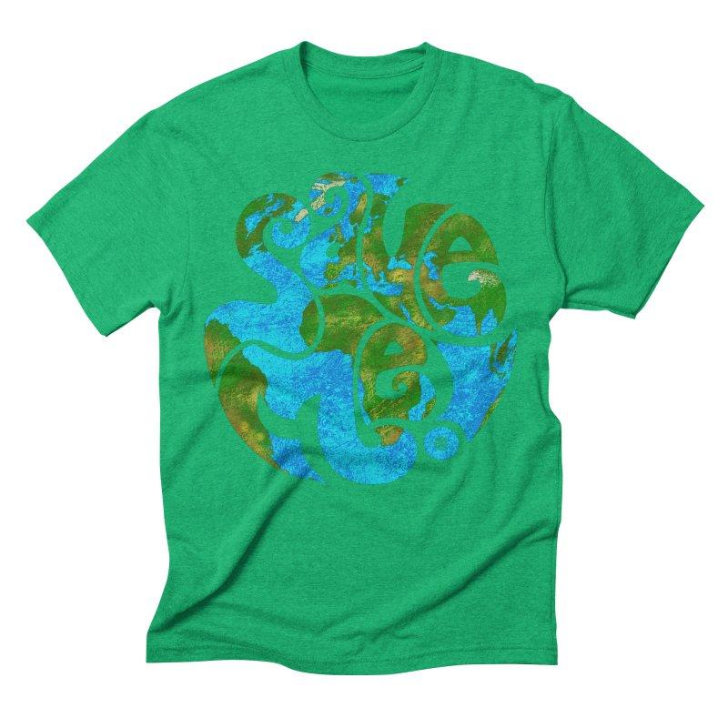 Save Me! Men's Triblend T-shirt by cmatthesart's Artist Shop