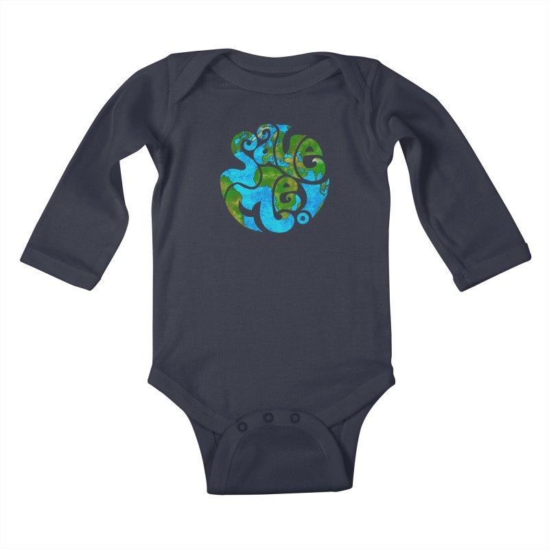 Save Me! Kids Baby Longsleeve Bodysuit by cmatthesart's Artist Shop