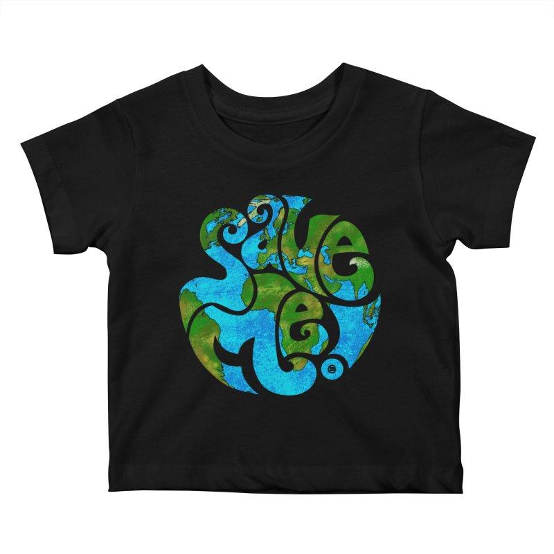 Save Me! Kids Baby T-Shirt by cmatthesart's Artist Shop