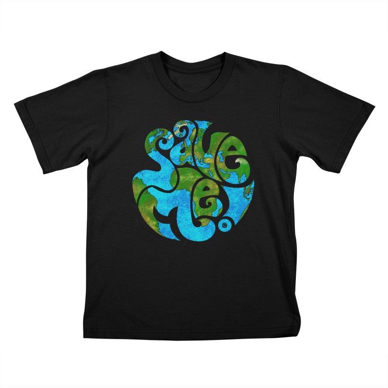 Save Me! Kids T-shirt by cmatthesart's Artist Shop
