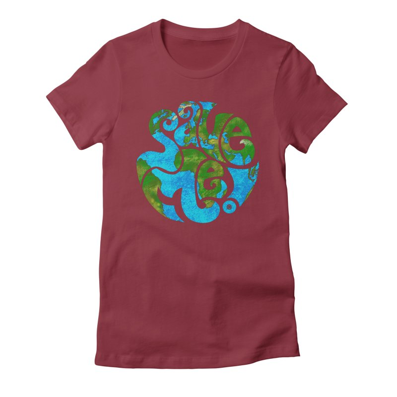 Save Me! Women's Fitted T-Shirt by cmatthesart's Artist Shop