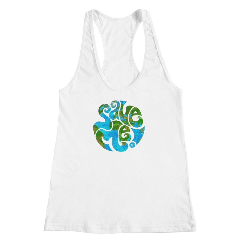 Save Me! Women's Racerback Tank by cmatthesart's Artist Shop