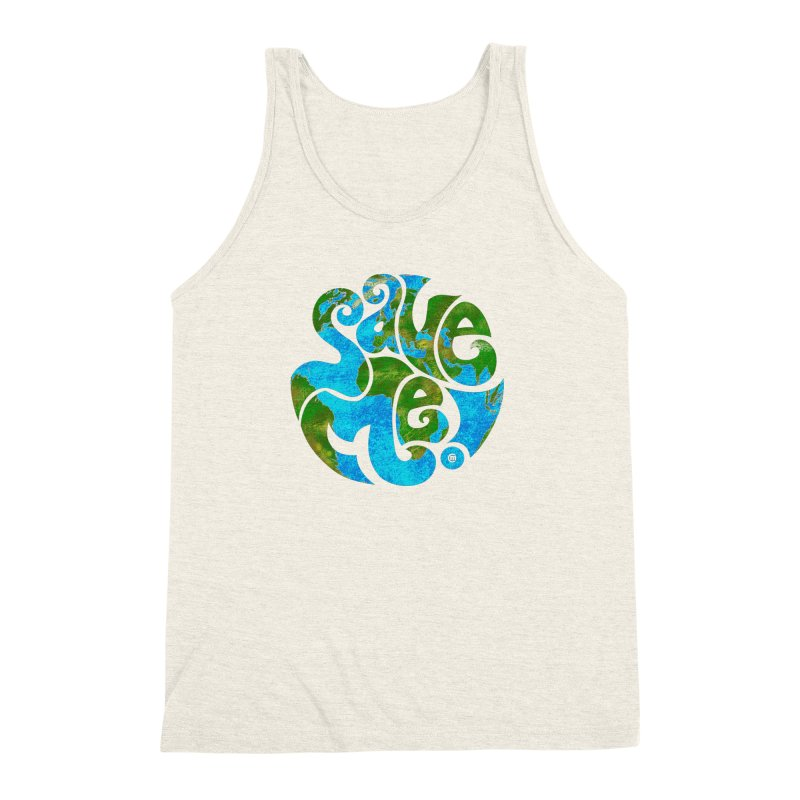 Save Me! Men's Triblend Tank by cmatthesart's Artist Shop
