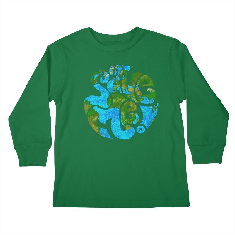 Save Me! Kids Longsleeve T-Shirt by cmatthesart's Artist Shop