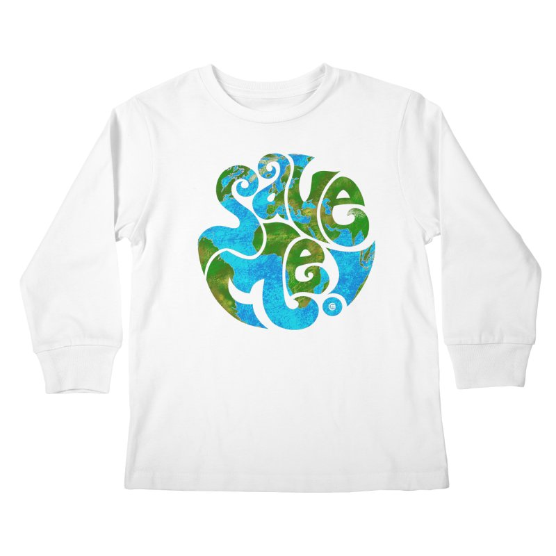 Save Me! Kids Longsleeve T-Shirt by cmatthesart's Artist Shop
