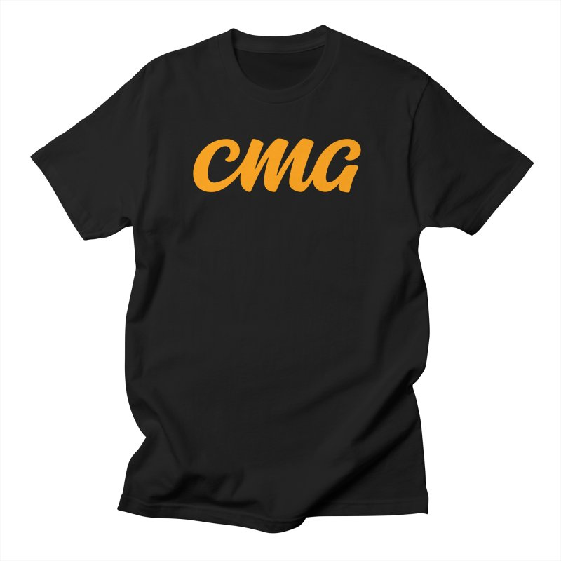 New CMG in Men's Regular T-Shirt Black by Church Motion Graphics