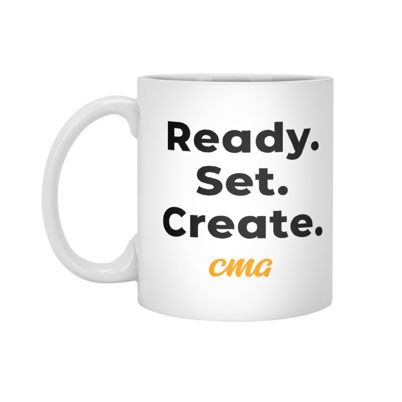 Ready Set Create - Black Accessories Standard Mug by Church Motion Graphics