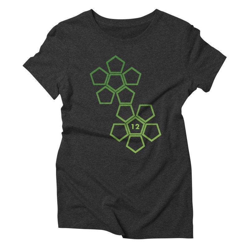 Intimidator Women's Triblend T-Shirt by GALDREGEAR
