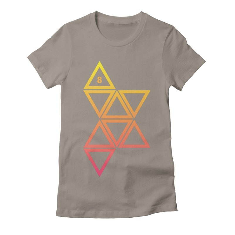 THE HAMMER AND THE HAND Women's Fitted T-Shirt by GALDREGEAR