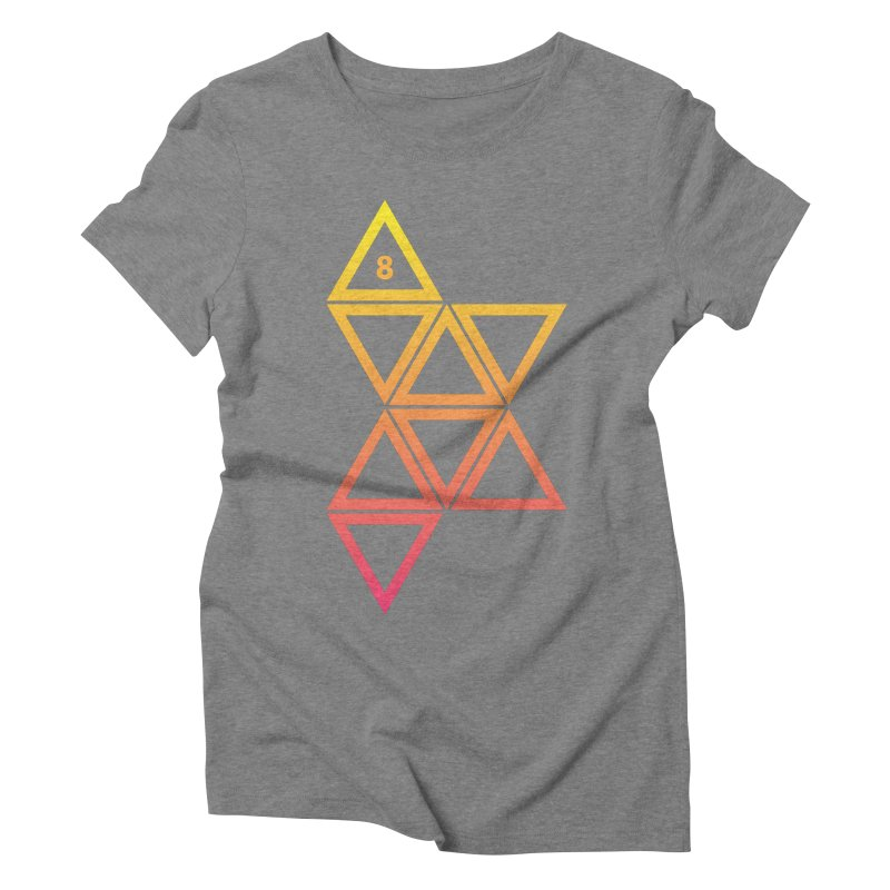 THE HAMMER AND THE HAND Women's Triblend T-shirt by GALDREGEAR
