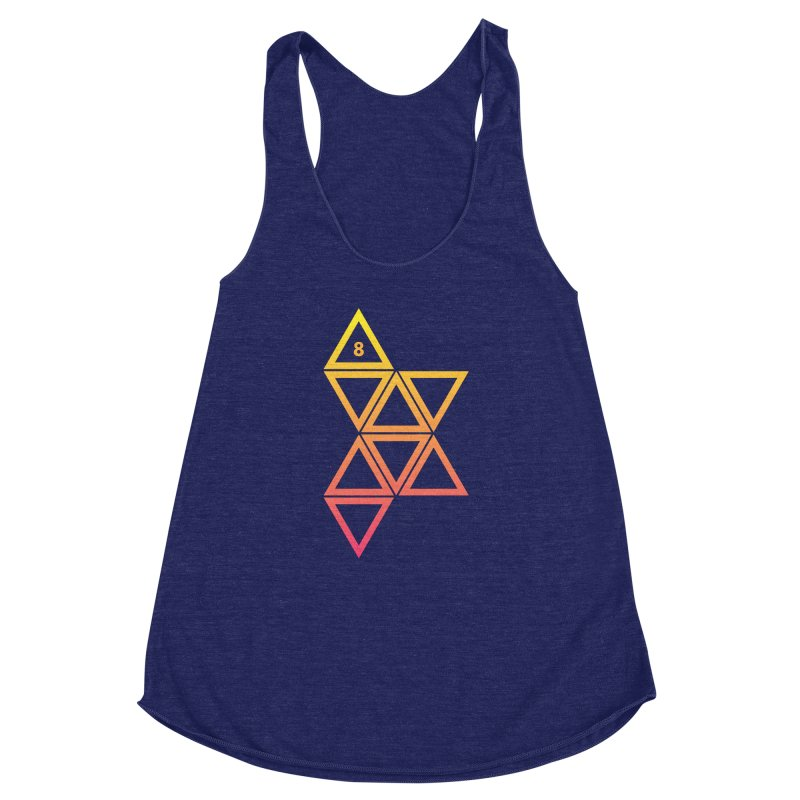 THE HAMMER AND THE HAND Women's Racerback Triblend Tank by GALDREGEAR