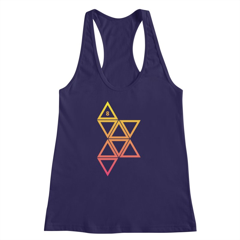 THE HAMMER AND THE HAND Women's Racerback Tank by GALDREGEAR