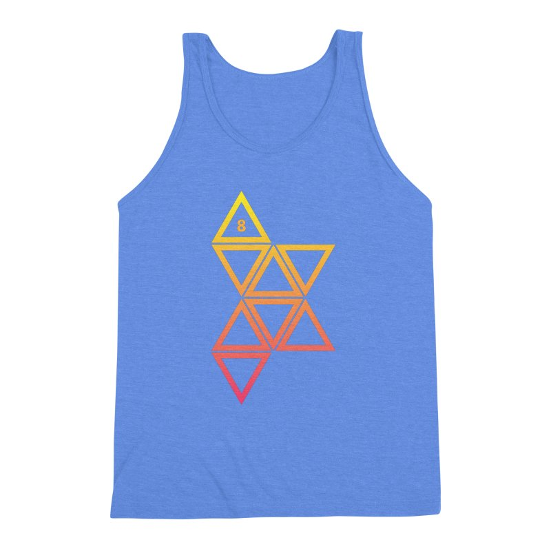 THE HAMMER AND THE HAND Men's Triblend Tank by GALDREGEAR